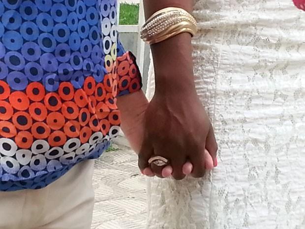 primeiro casamento homoafetivo em Divinópolis, MG (Foto: Marina Alves)