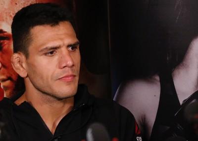 Rafael dos Anjos Treino Aberto UFC (Foto: Evelyn Rodrigues)