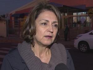 Rosa Bella, coordenadora da vigilância, diz que bloqueio é eficaz (Foto: Reprodução/ TV TEM)