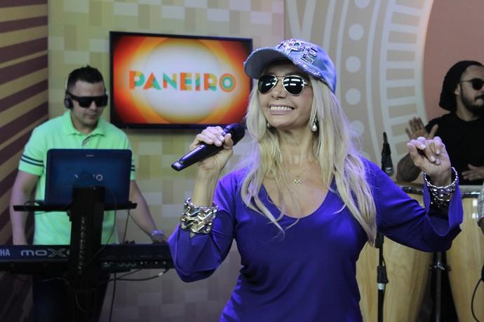 Nete Garcia está há 15 anos na Banda Impakto (Foto: Katiúscia Monteiro/ Rede Amazônica)