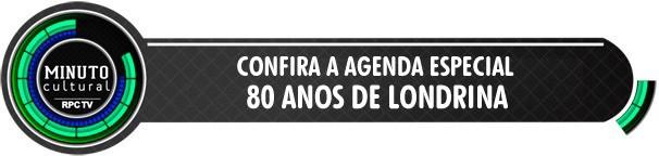 Minuto Cultural Londrina (Foto: Arte/ RPC TV)