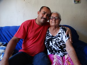 Aguinaldo Gouveia e Paulina Maria (Foto: Paula Cavalcante/ G1)