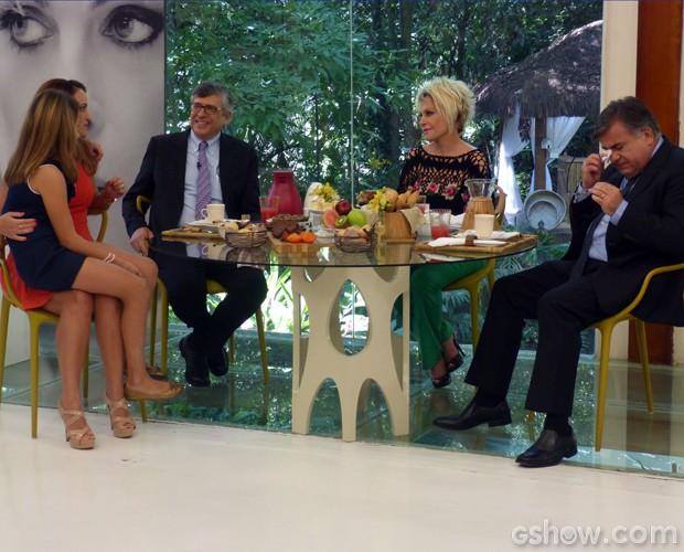Médico se emociona no Mais Você (Foto: Mais Você / TV Globo)