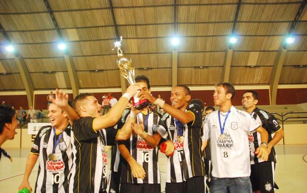Treze futsal (Foto: Leonardo Silva / Jornal da Paraíba)