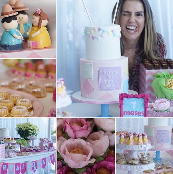 Detalhes da festinha de Maria Flor (Foto: Reprodução/Instagram)