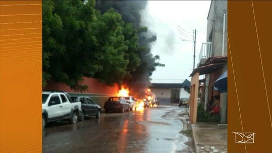 Delegacia é incendiada em Bom Jardim, MA