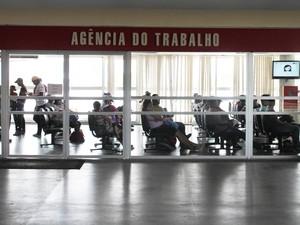 Agência do Trabalho de Petrolina (Foto: Taisa Alencar/G1)