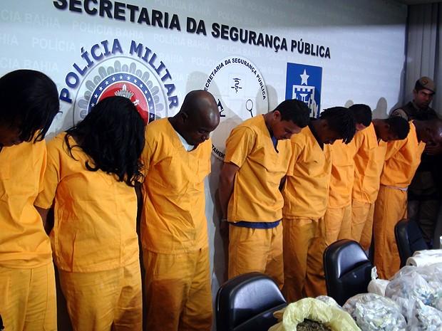 Apresentação Tancredo Neves, Bahia (Foto: Lílian Marques/ G1)