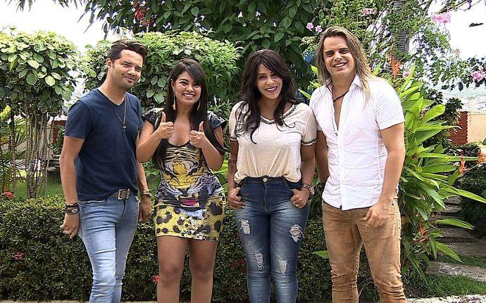 Banda Calcinha Preta relembra sucesso de 'Você Não Vale Nada', na trilha de Caminho das Índias (Foto: Divulgação / TV Sergipe)