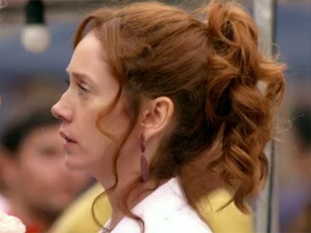 O cabelo vermelho da Noemia agrada as telespectadoras (Foto: Divulgação/TV Globo)