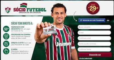 Sócio Futebol do Fluminense (Foto: Reprodução)
