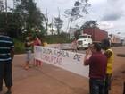 Caminhoneiros interditam Alça Viária em protesto no Pará