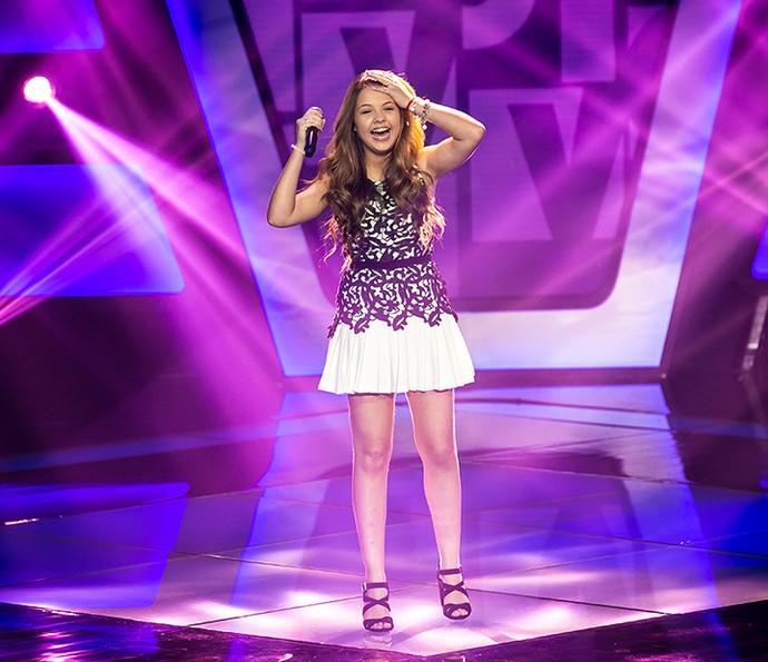 Júlia Gomes brilhou no palco do The Voice Kids (Foto: Isabella Pinheiro/Gshow)