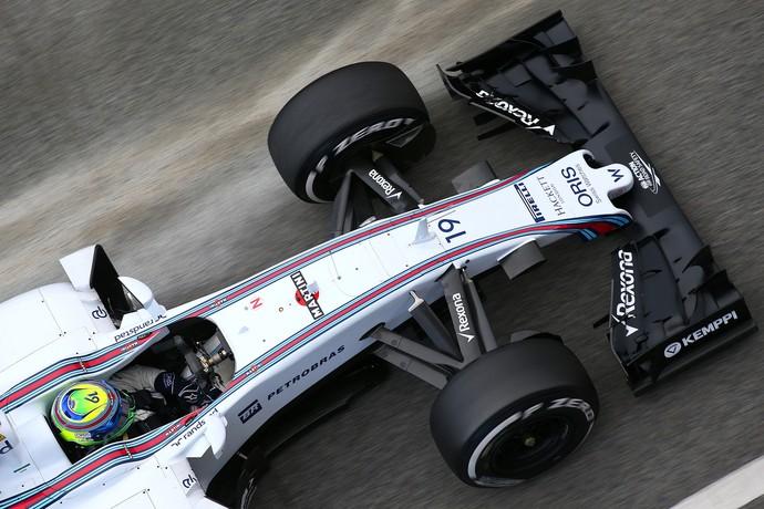 Brasileiro Felipe Massa foi o mais rápido dos testes da manhã em Barcelona (Foto: Getty Images)