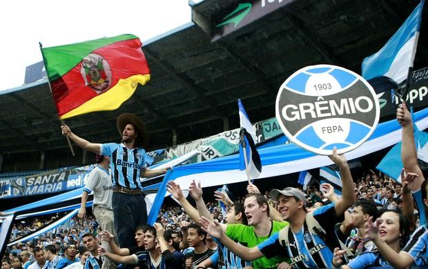 Torcida do Grêmio toma Olímpico em último treino antes do Gre-Nal (Foto: Wesley Santos/PressDigital)