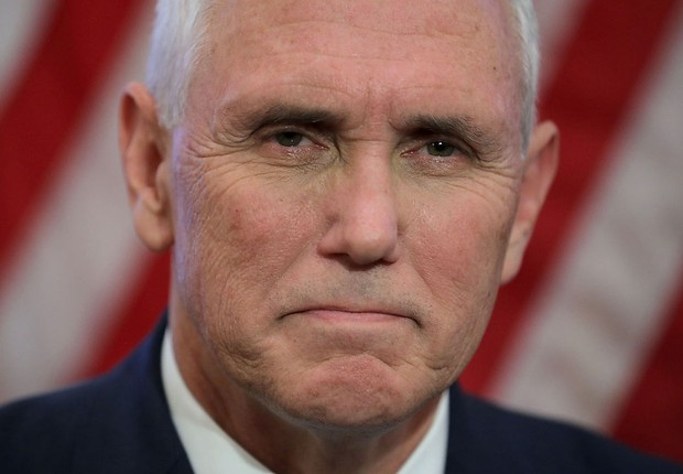 Mike Pence, vice-presidente dos EUA (Foto: Chip Somodevilla/Getty Images)