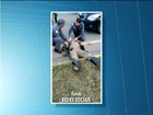 Policial é atropelado por carro ao perseguir motociclista em MG