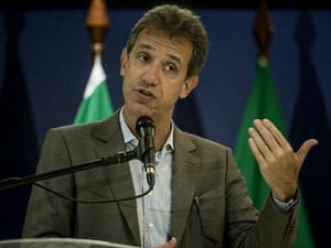 O ministro da Saúde, Arthur Chioro, lançou plano de enfrentamento à hanseníase em Cuiabá. (Foto: José Medeiros / Gcom-MT)