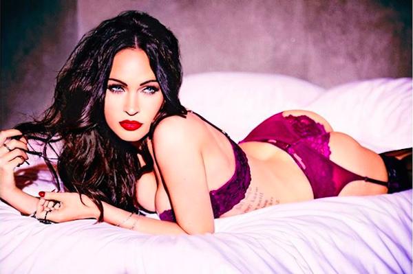 O ensaio da atriz Megan Fox (Foto: Instagram)