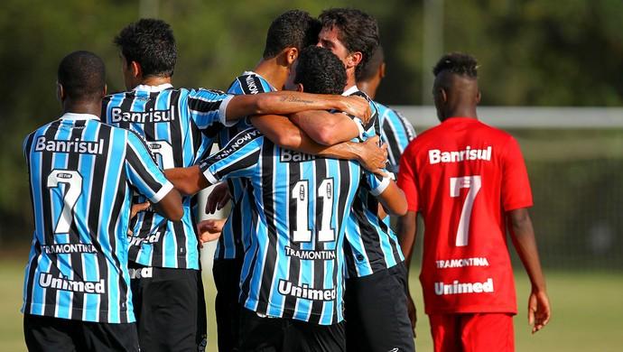 Gre-nal juniores gremio inter gol (Foto: Lucas Uebel/Grêmio)