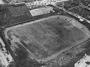Estádio dos Eucaliptos recebeu dois jogos em 1950 (Foto: Reprodução/G1)