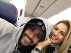 Andressa Suita acompanha Gusttavo Lima em turnê nos Estados Unidos
