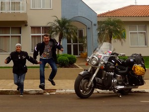 Ângela e Dolor iniciaram o projeto em julho de 2012 (Foto: Arquivo pessoal)