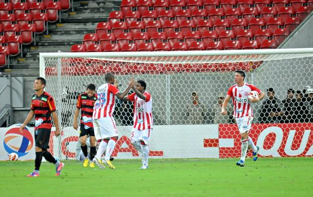 Náutico x Sport (Foto: Aldo Carneiro/Pernambuco Press)