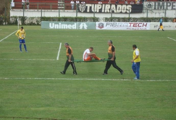 Tupi x Duque de Caxias - Série C 2014 (Foto: Bruno Ribeiro)