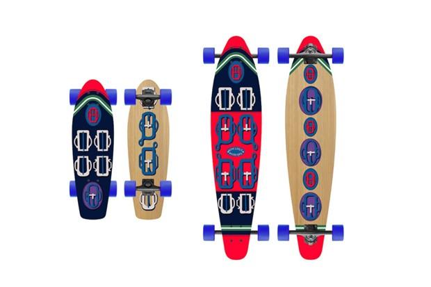 Skates e longboards da Hermès (Foto: Divulgação)