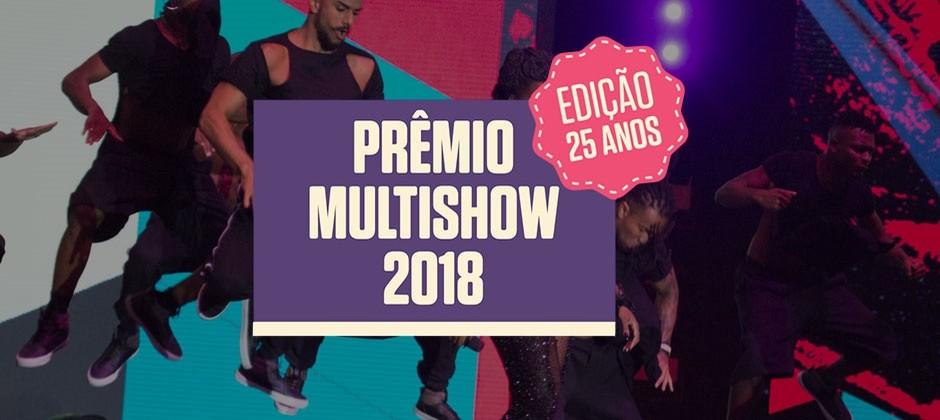 Vote na primeira fase do Prêmio Multishow 2018!
