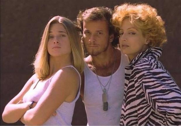 Letícia Spiller, Marcello Novaes e Betty Lago (Foto: Reprodução/Instagram)