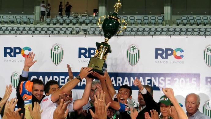 Operário-PR; Coritiba; campeão (Foto: Fernando Freire)