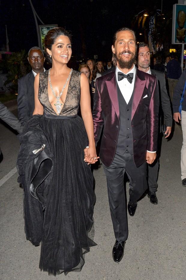 Camila Alves e Matthew McConaughey (Foto: Grosby Group)
