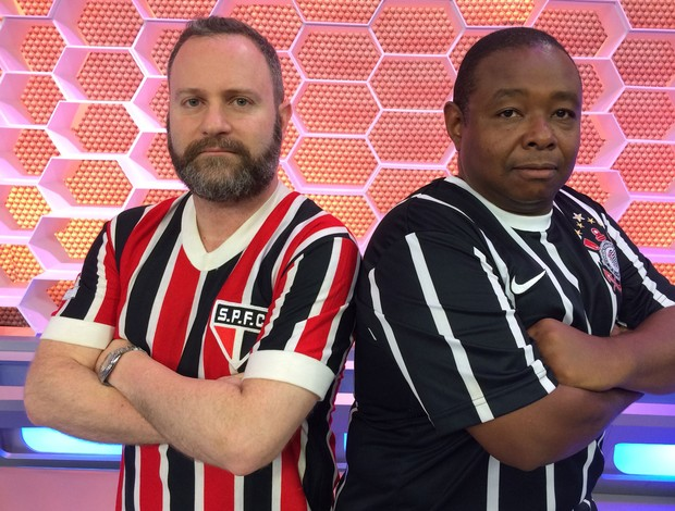 Daniel Perrone e Silvinho, blogueiros, São Paulo e Corinthians