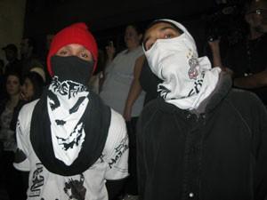 integrantes de torcidas organizadas (Foto: Tahiane Stochero/G1)