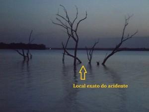 Tio e sobrinho de 2 anos morrem em acidente de moto aquática no Piauí (Foto: Gleison Fernandes/Portal Cidade Luz)