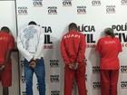 Polícia apresenta suspeitos de praticar homicídios em Juiz de Fora