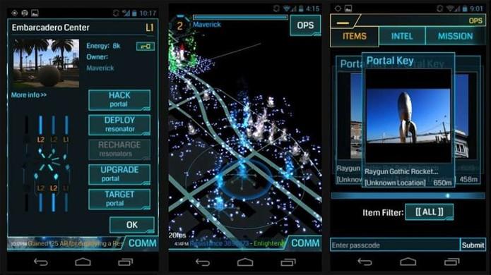 Ingress é um jogo com funcionamento semelhante a Pokémon Go, porém com portais e quebra-cabeças (Foto: Reprodução/GameSpot)