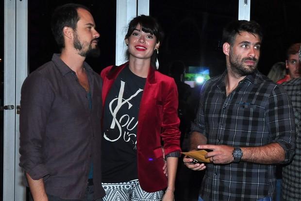 Paulo Vilhena, Thaila Ayala e Raoni Carneiro (Foto: Roberto Teixeira/EGO)
