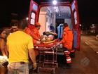 Acidente entre motos deixa mulher ferida na Cabanagem, em Belém