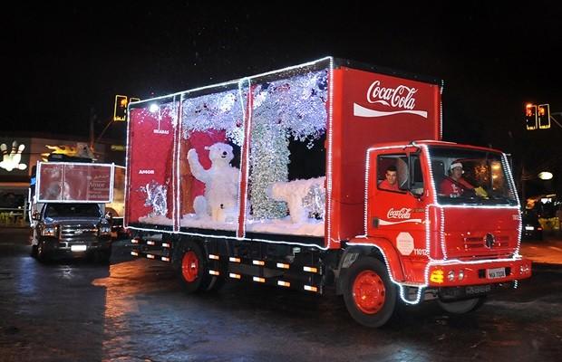 Caravana da Coca-Cola percorre cidades goianas até o dia 18 (Foto: Divulgação)