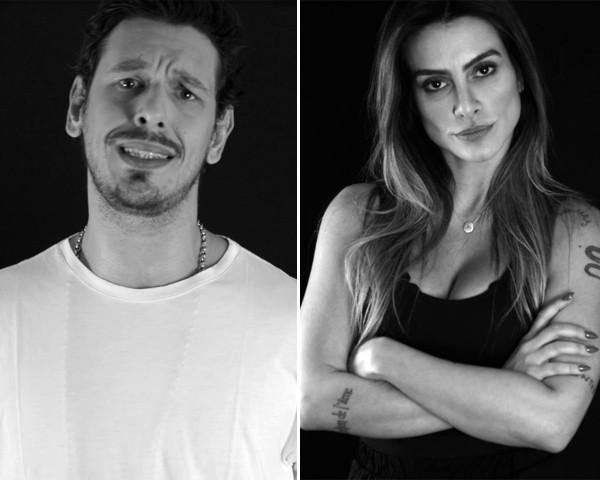 João Vicente e Cleo Pires em campanha contra o estupro (Foto: Divulgação)