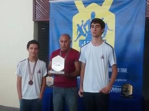 Mateus Dimas é campeão de  xadrez em Arcos (Foto: Renaclo Antônio/ Arquivo Pessoal)