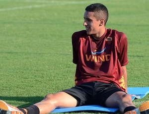 Marquinhos no treino do Roma (Foto: EFE)
