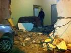 Motorista perde controle de carro e invade casa na zona rural de Barrocas