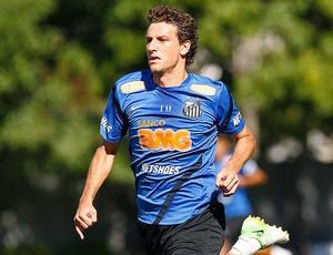 Elano no treino do Santos (Foto: Ricardo Saibun / Divulgação Santos FC)