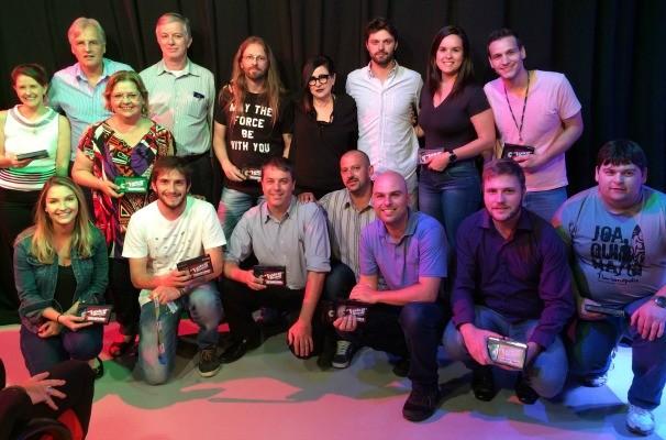Premiados Tchê Voice Brasil rbs tv (Foto: Gabriela Haas/RBS TV)