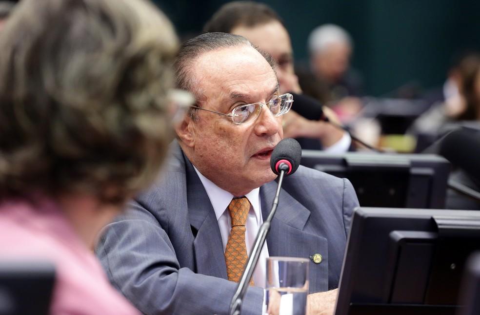 O deputado Paulo Maluf durante sessão da CCJ da Câmara (Foto: Cleia Viana/Câmara dos Deputados)