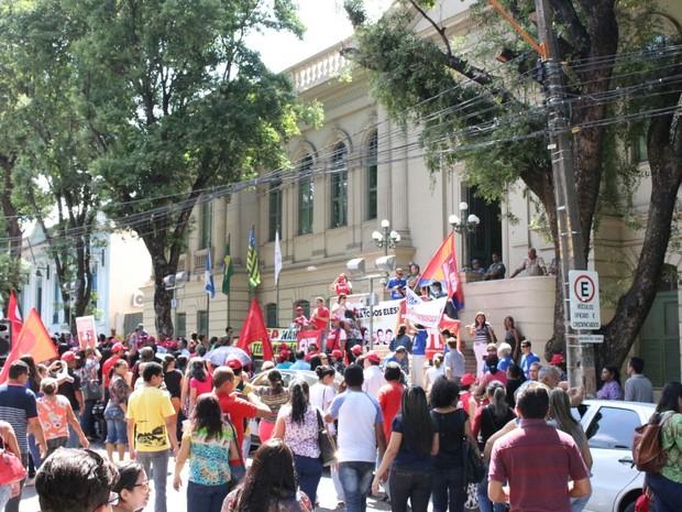 Centrais fazem atos contra a reforma trabalhista e da Previdência de Temer